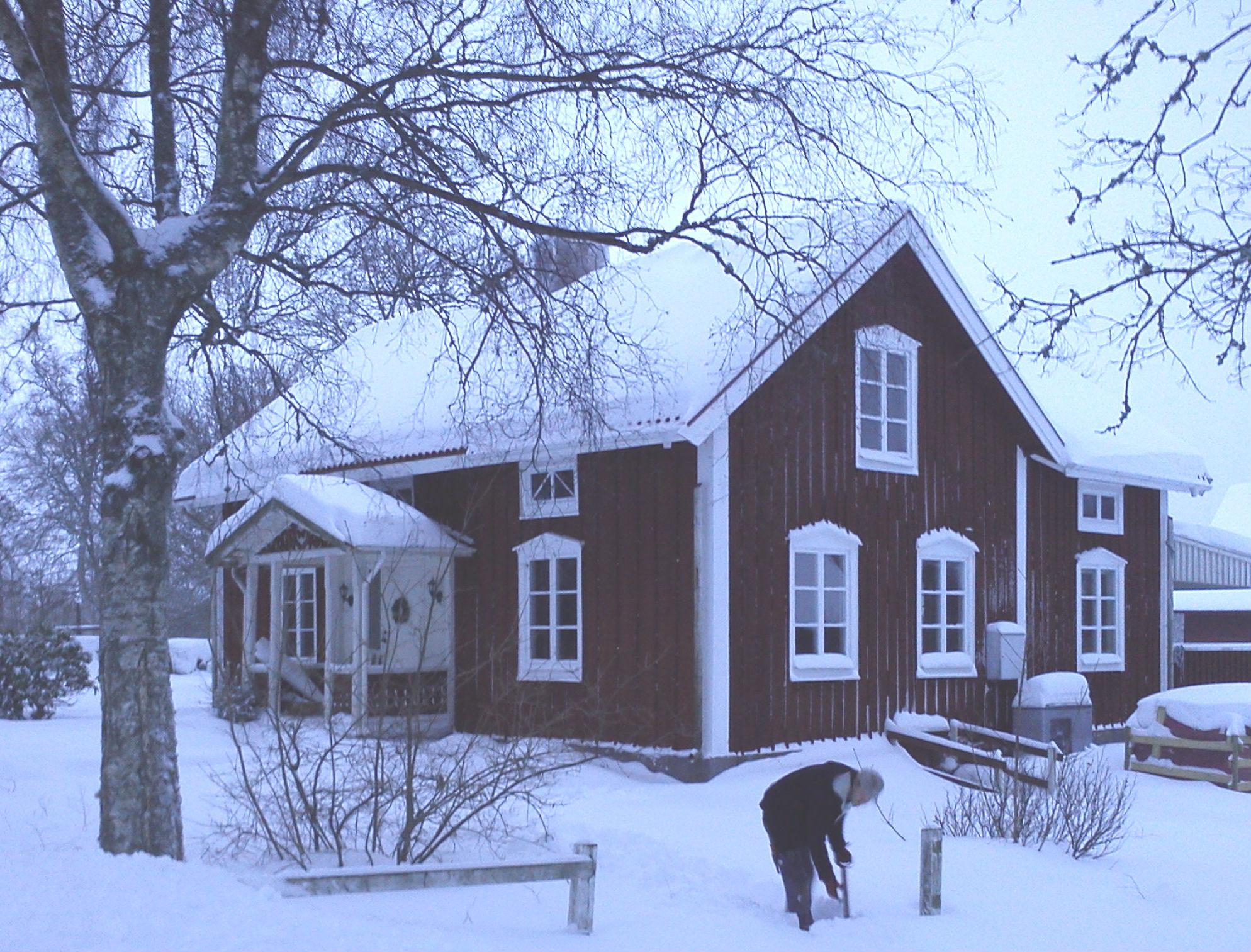 Klockaregården vinter